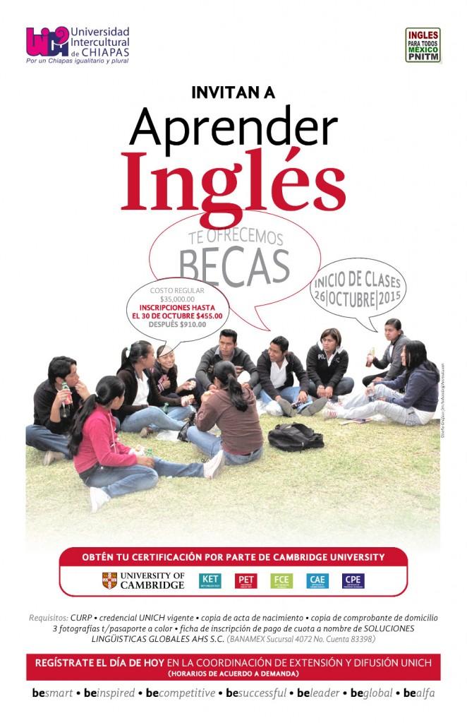 Beca para Aprender Inglés
