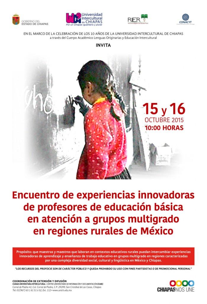 Encuentro de Experiencias Innovadoras de Profesores de Educación Basica