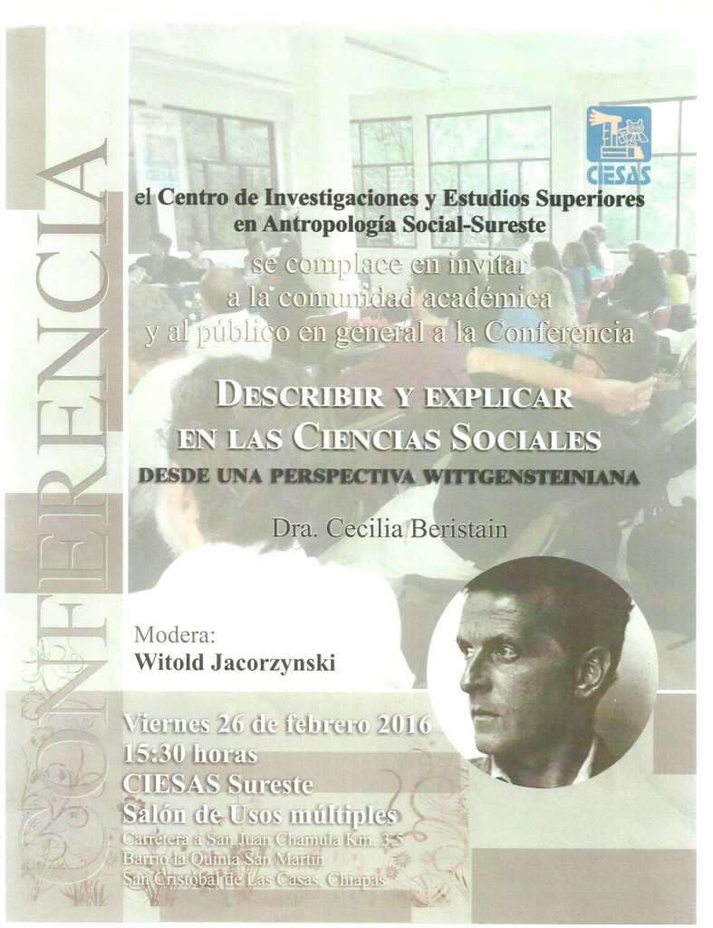 Describir y Explicar en las Ciencias Sociales