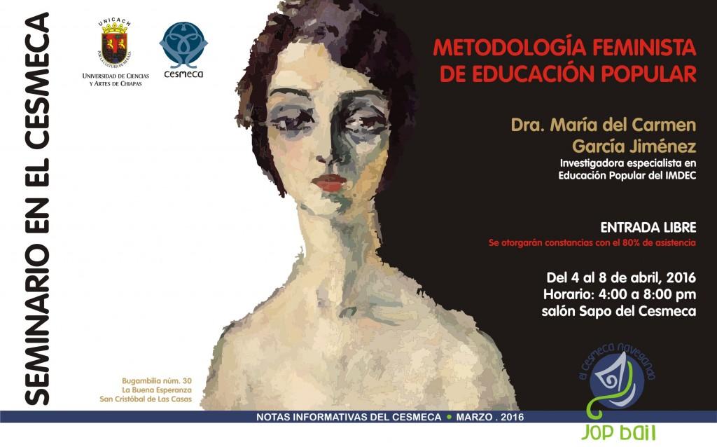 Seminario: Metodología feminista de educación popular