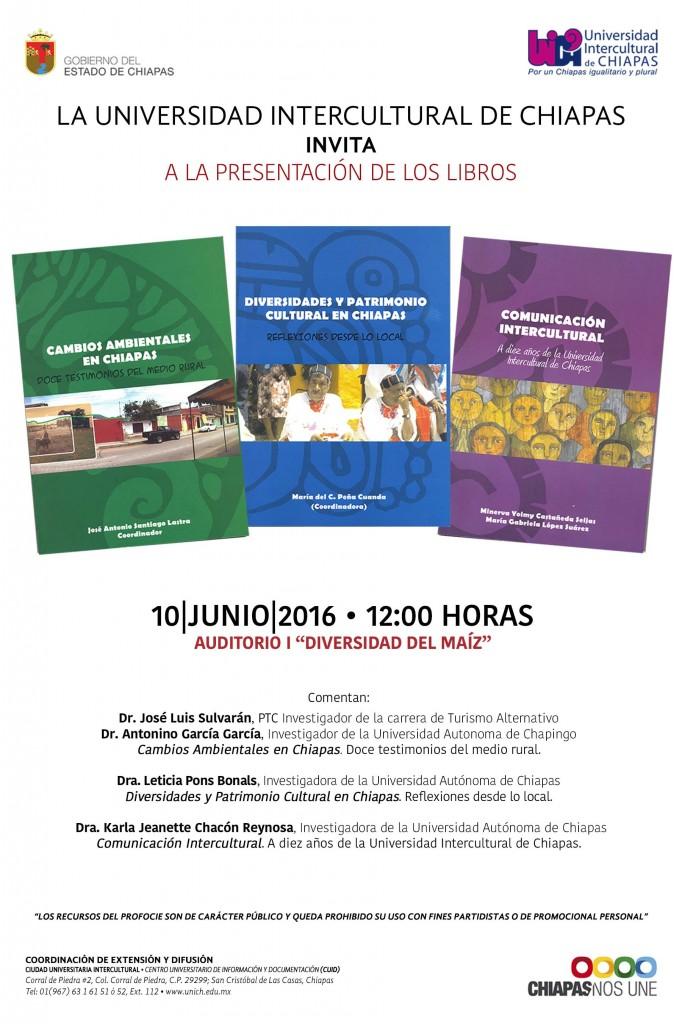 """Presentación de Libros - Auditorio I """"Diversidad del Maíz"""""""