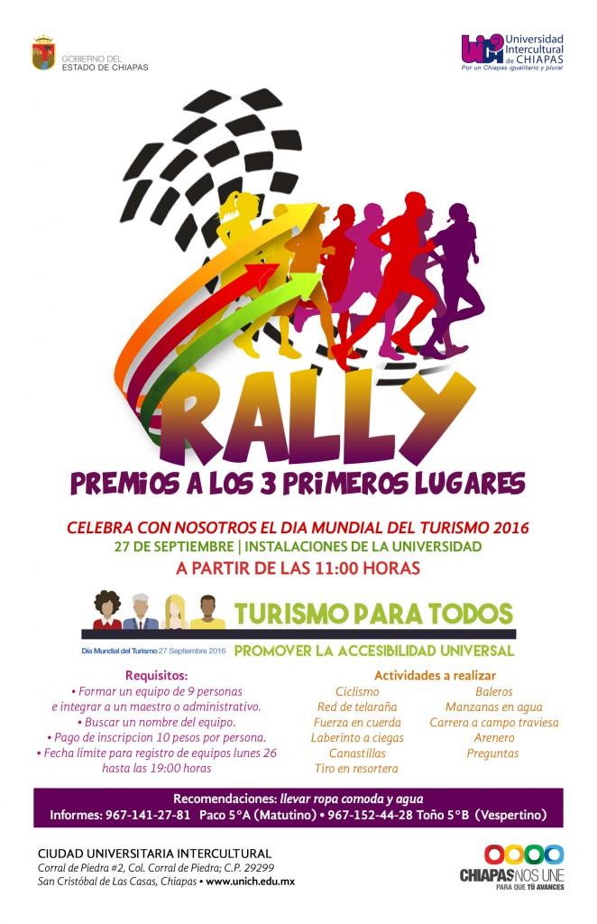 Rally - El día mundial del Turismo 2016
