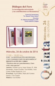 INVITAMOS FERIA LIBRO 261016