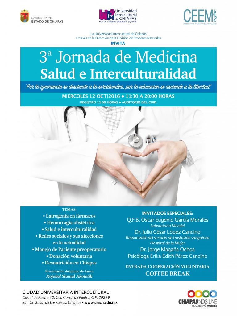 3a Jornada de Medicina Salud e Interculturalidad
