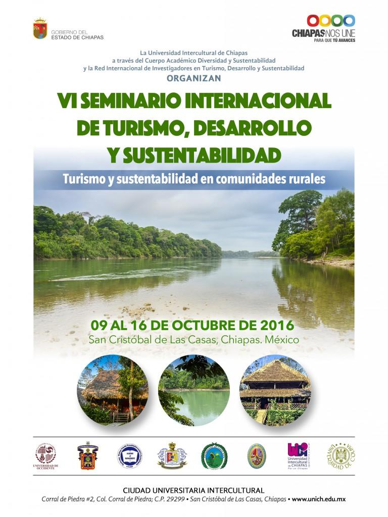 VI Seminario internacional de Turismo, Desarrollo y Sustentabilidad