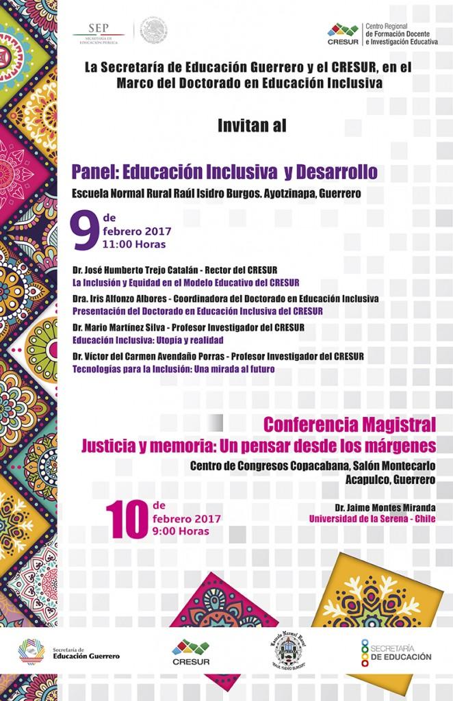 Panel: Educación Inclusiva y Desarrollo