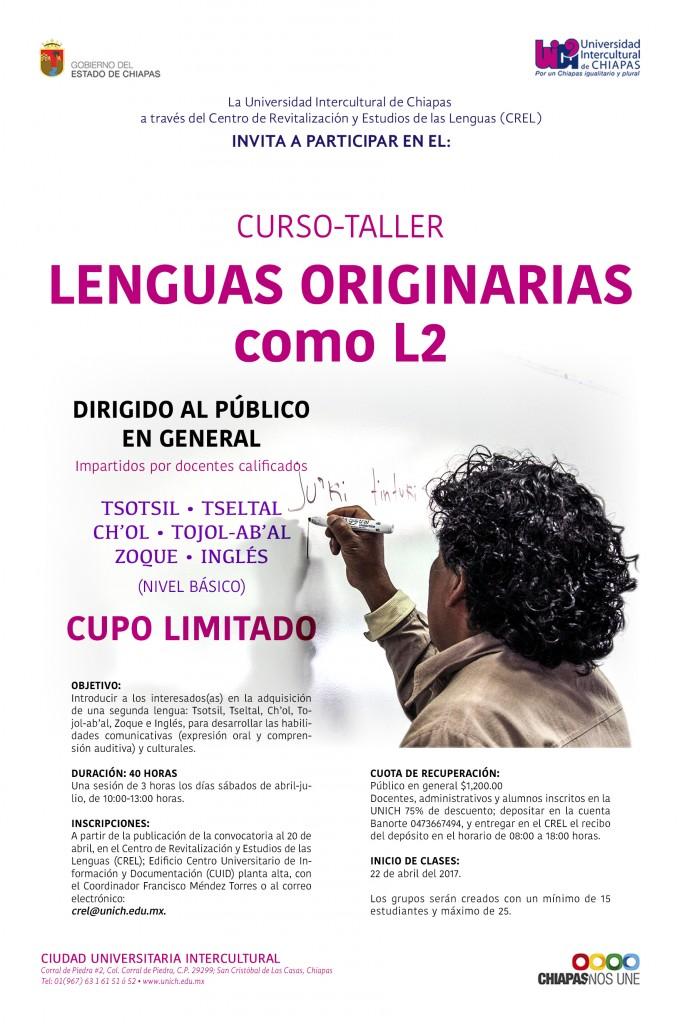 Curso Taller Lenguas Originarias