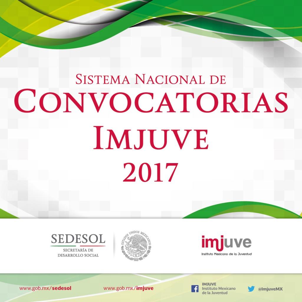 Convocatorias Imjuve 2017