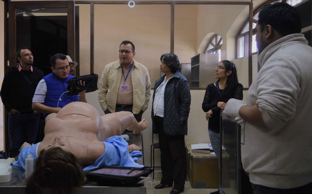 La Universidad Intercultural de Chiapas recibe la visita de la Secretaría de Salud