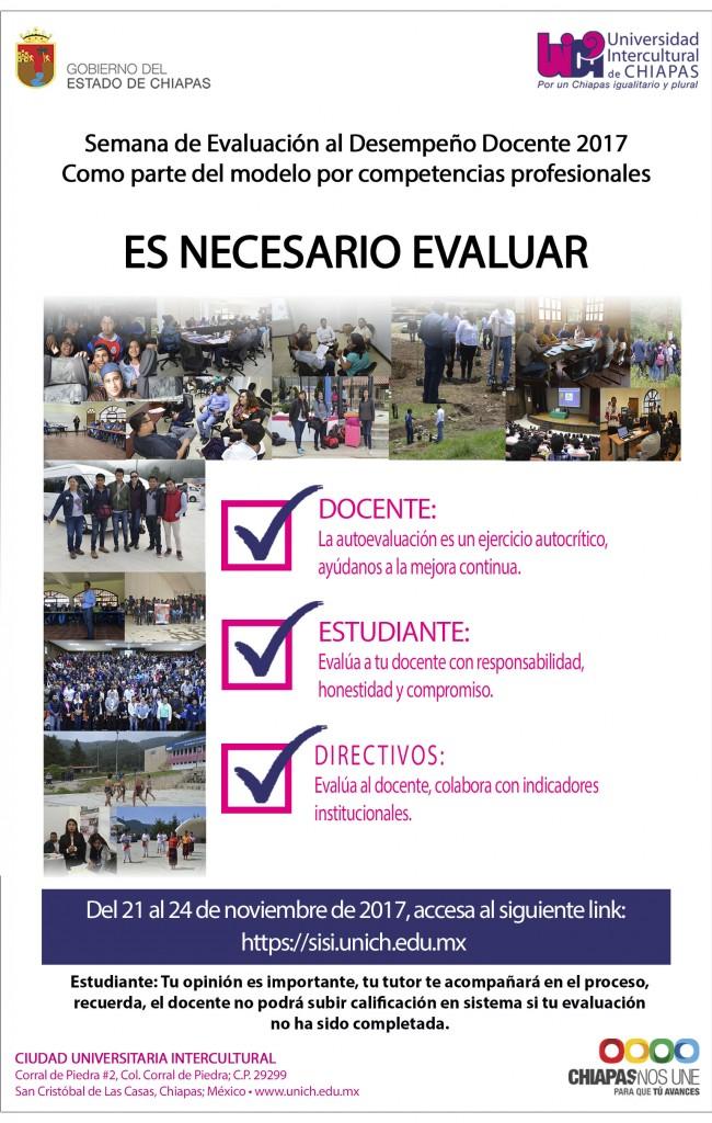 Participa en la Semana de Evaluación al Desempeño docente