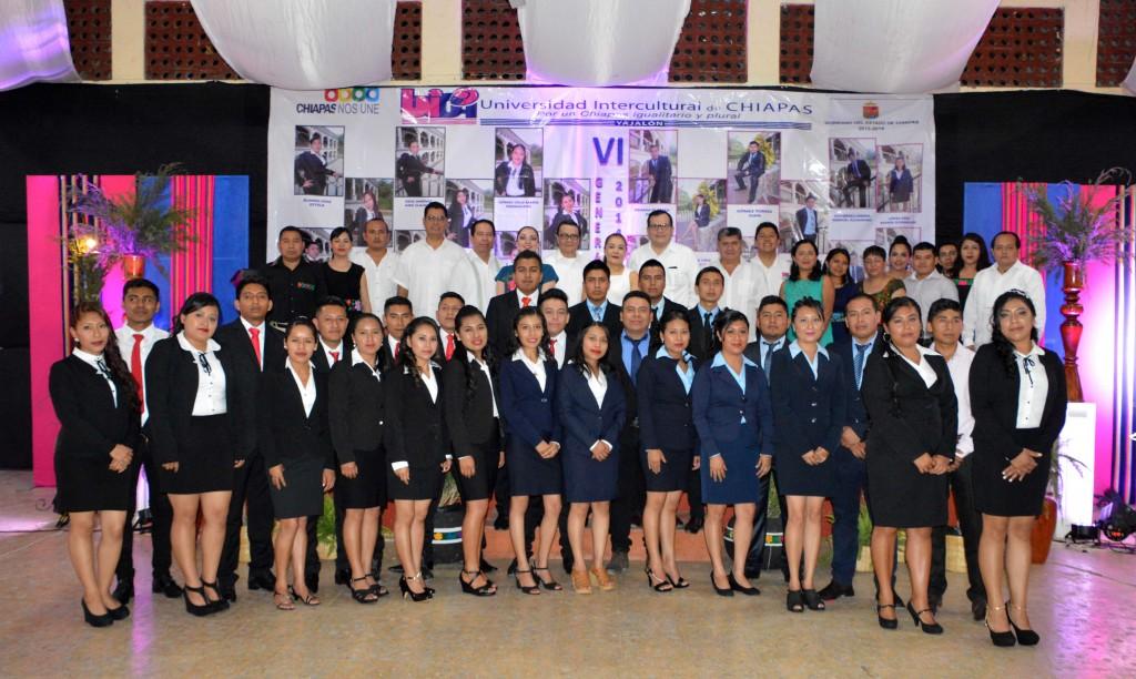 Unich realiza ceremonia de graduación en las unidades de Yajalón y Valle del Tulijá