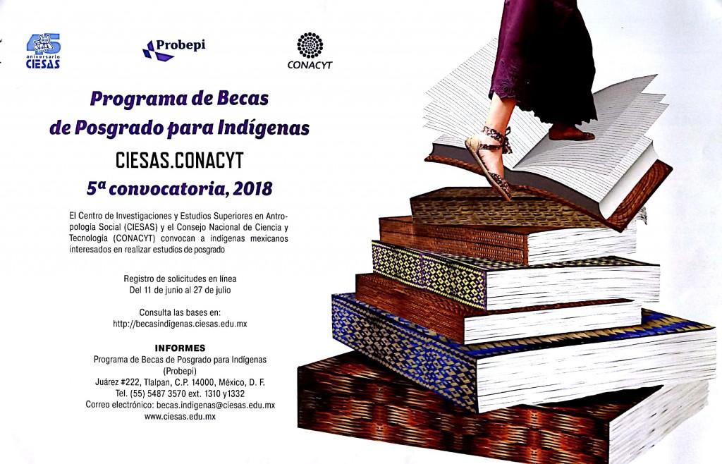 Programa de Becas de Posgrado para Indígenas CIESAS.CONACYT