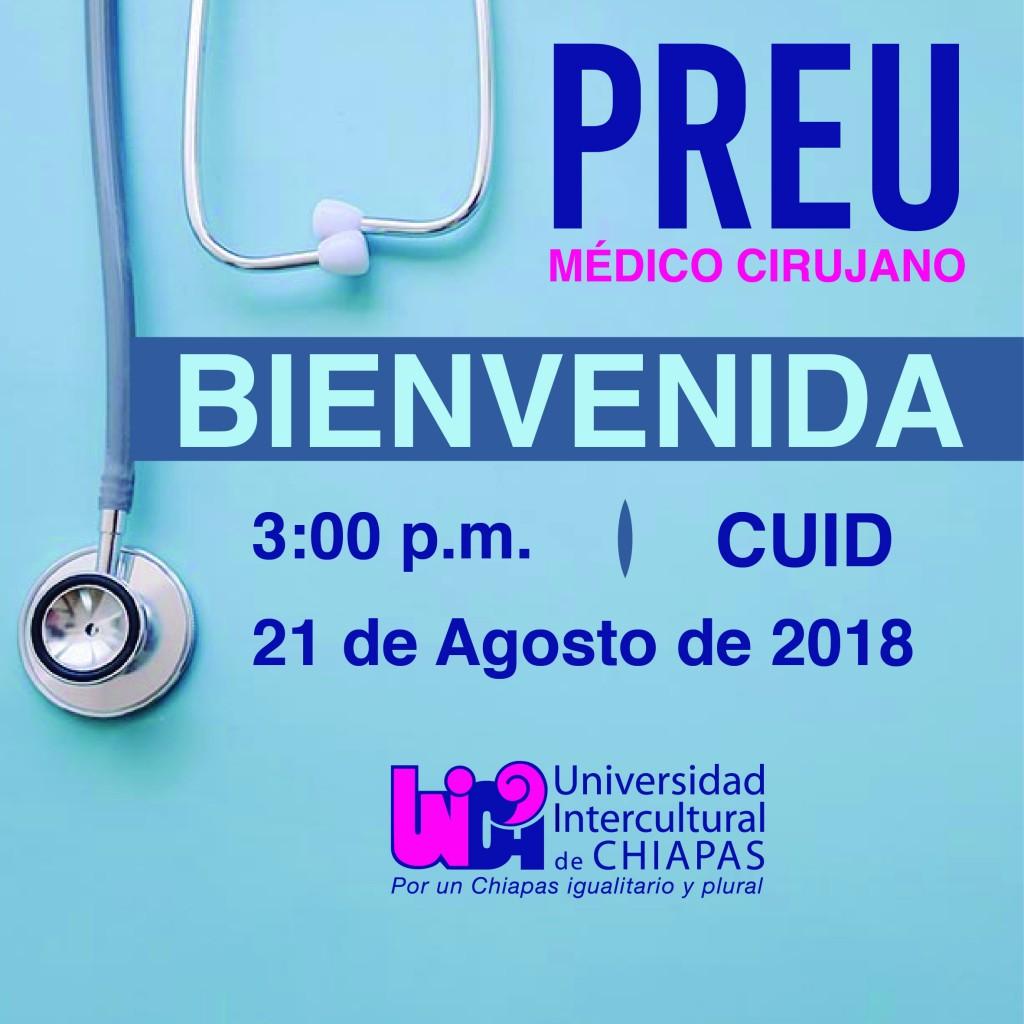 INFORMACIÓN PARA EL CURSO PREUNIVERSITARIO MÉDICO CIRUJANO