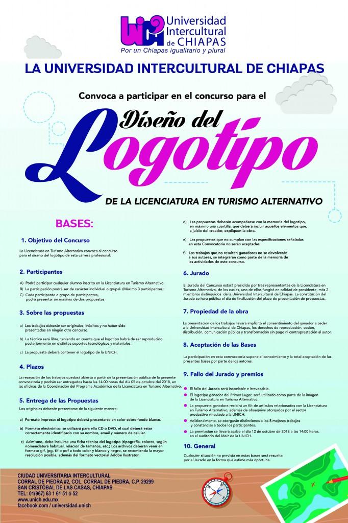Participa en el diseño del logotipo de Turismo Alternativo