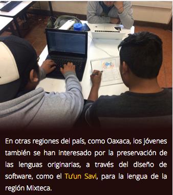 Estudiantes diseñan app para aprender tseltal