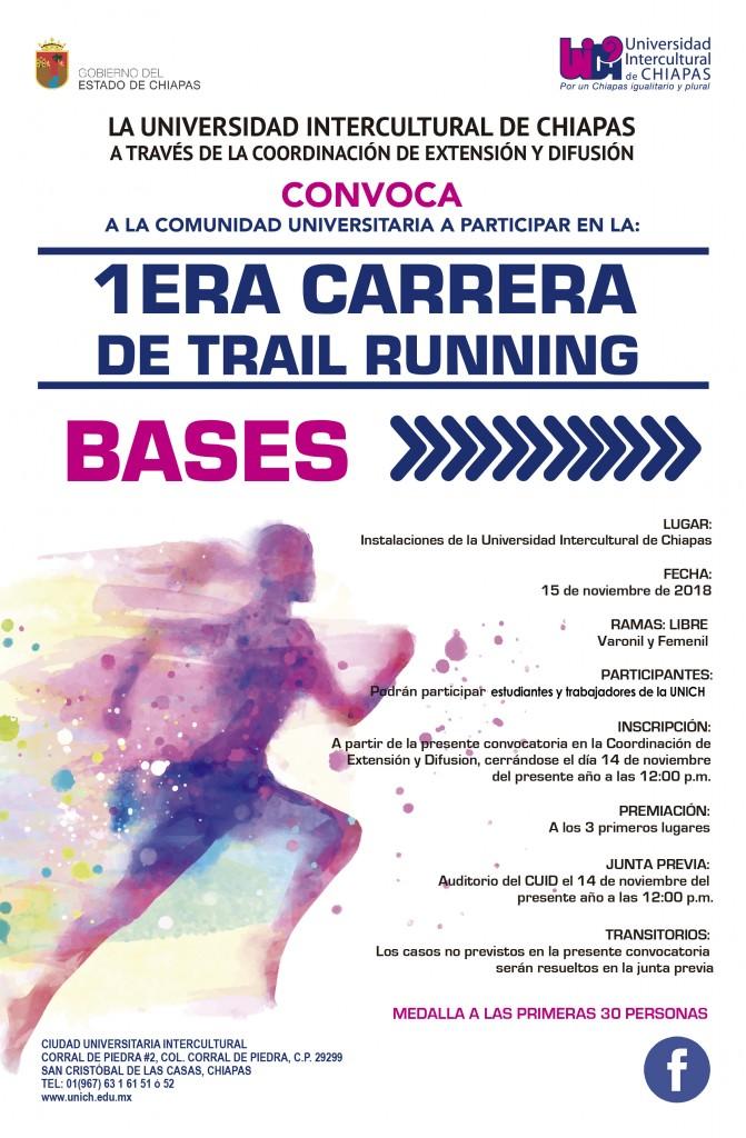 Participa en la Primera Carrera de Trail Running/ carrera de montaña