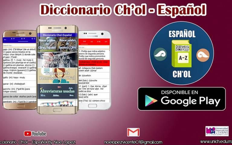 Crean aplicación en Google Play de diccionario en lengua indígena