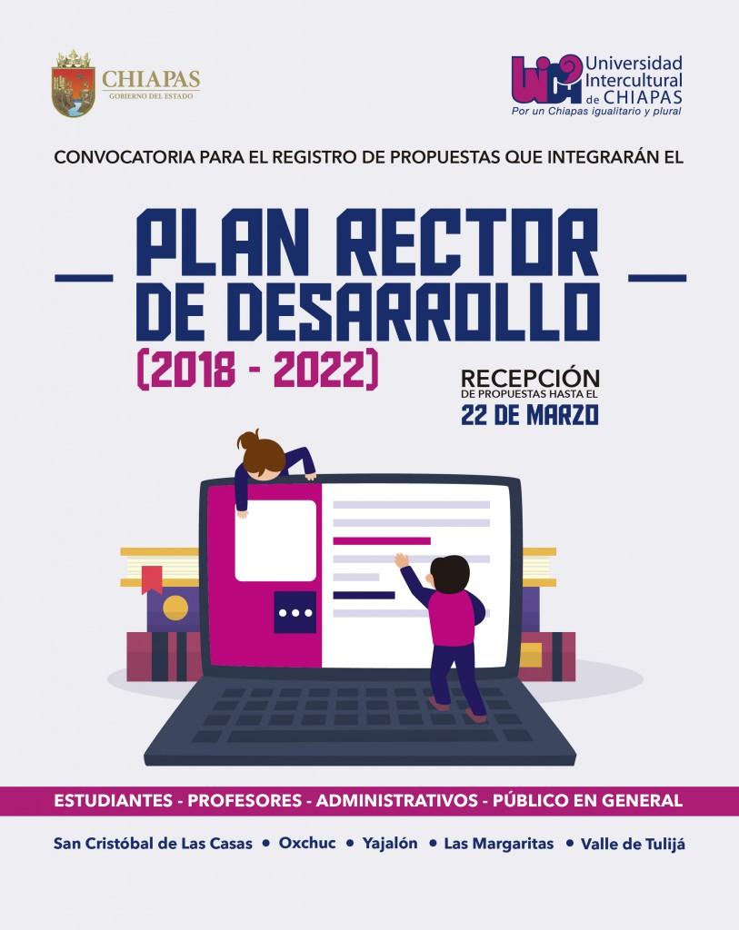 Participa en el Plan Rector de Desarrollo 2018-2022