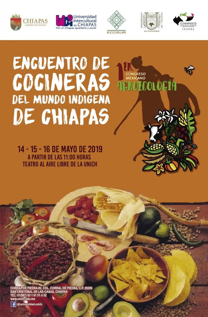 Primer Encuentro de Cocineras del mundo indígena de Chiapas