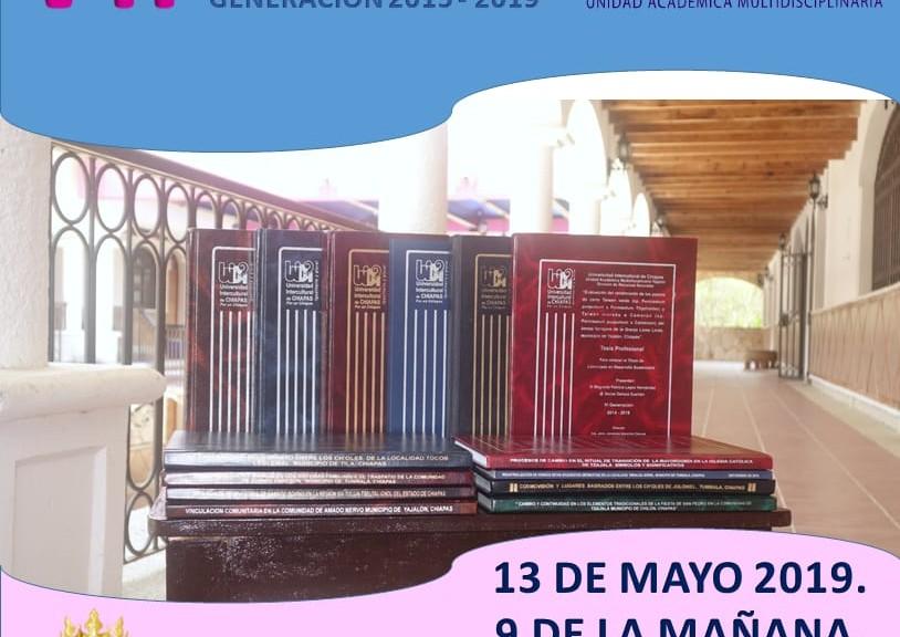 VII Coloquio de Investigación. 13 de mayo. 9 de la mañana. CEDECO Yajalón