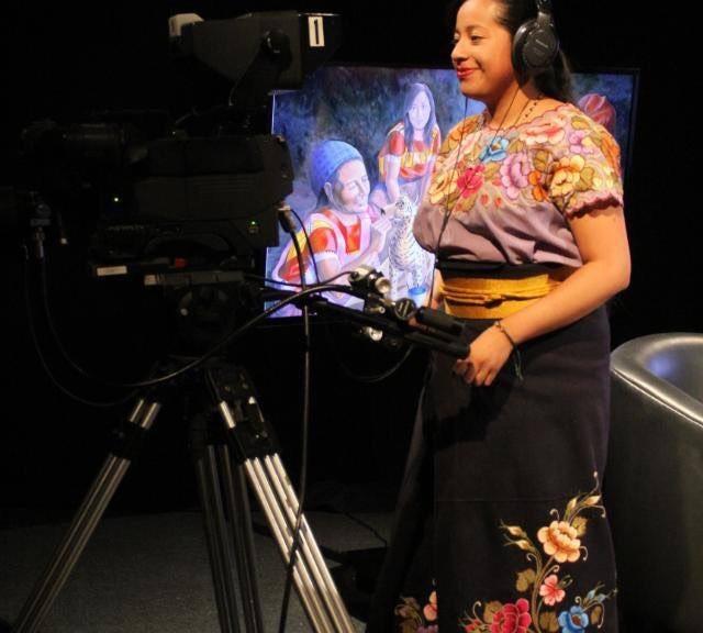 Beatriz Adriana Pérez Cadena, alumna de Comunicación Intercultural