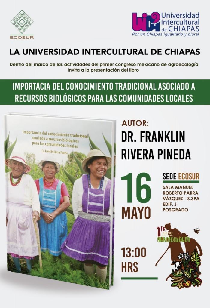 Presentación de Libro Importancia del Conocimiento Tradicional Asociado a Recursos Biológicos para las Comunidades Locales