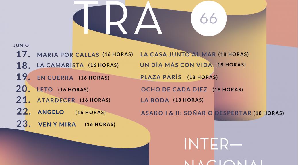 Muestra Internacional de cine 66