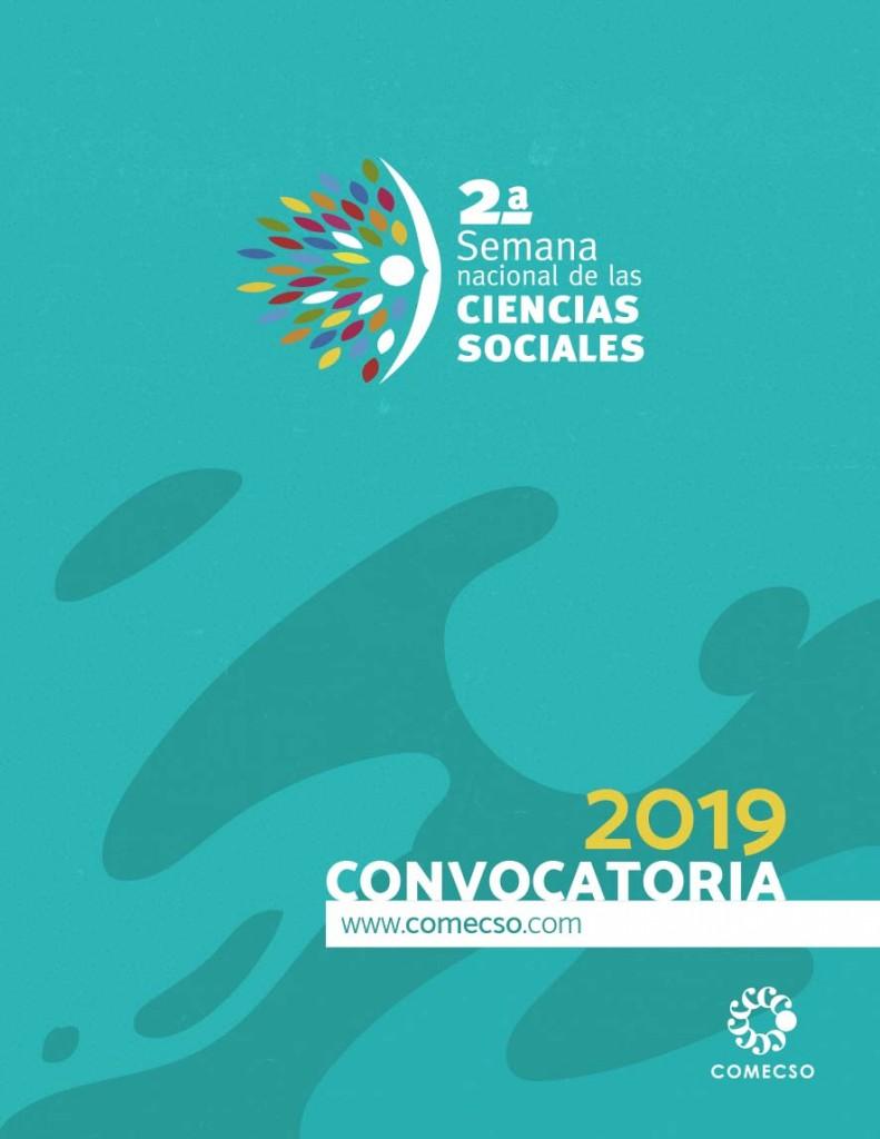 Convocatoria para participar en la 2a. Semana Nacional de las Ciencias Sociales que se celebrará del 7 al 11 de octubre de 2019