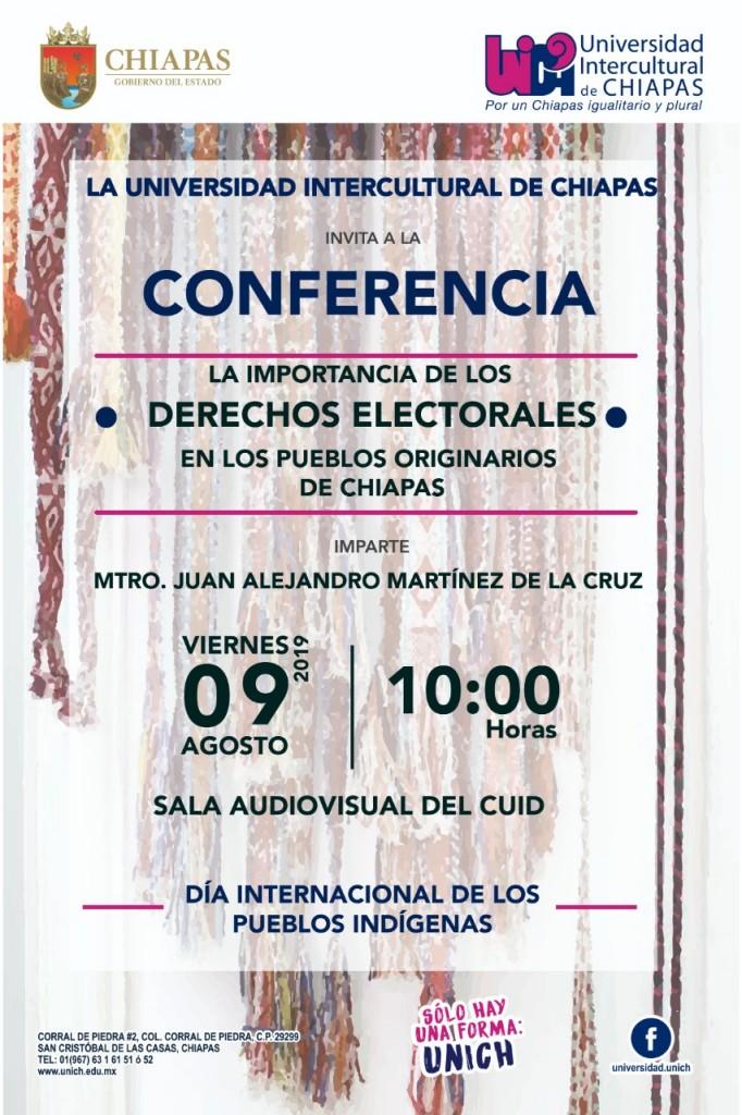 Conferencia Derechos Electorales