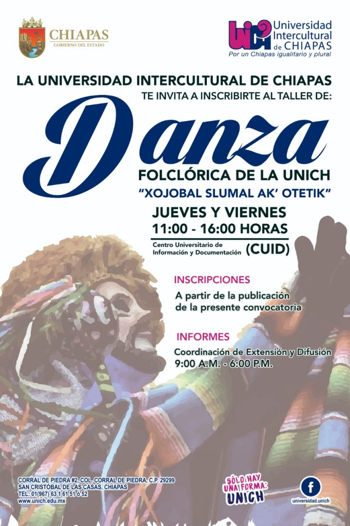 Taller de Danza Folclórica de la UNICH