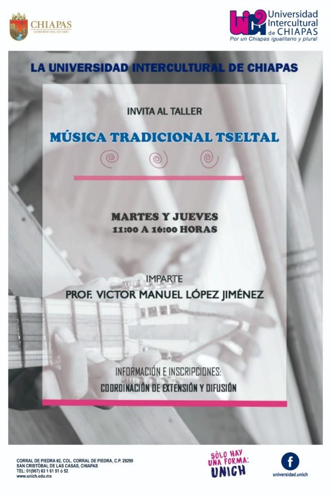 Taller de Música Tradicional Tseltal de la UNICH