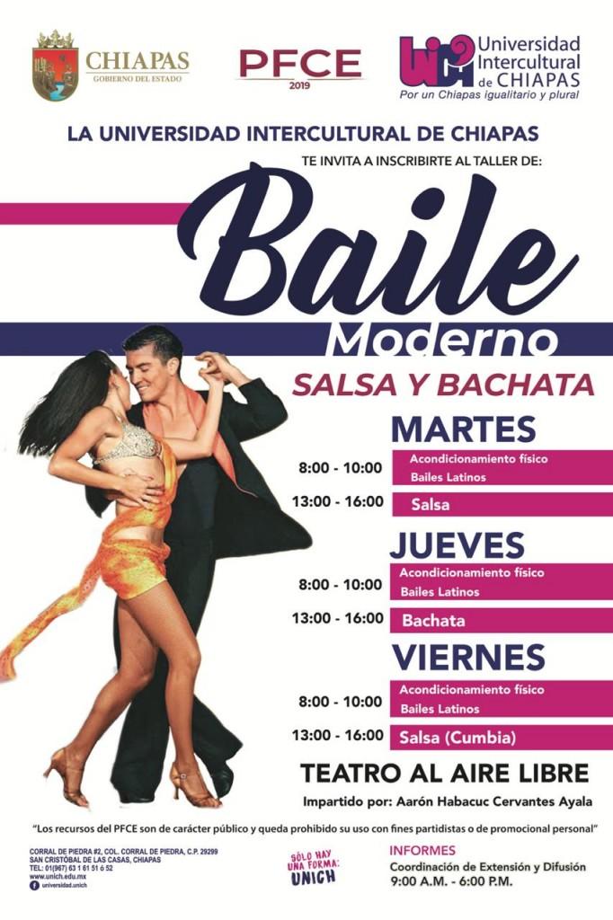 Taller de Baile Moderno Sede central San Cristóbal
