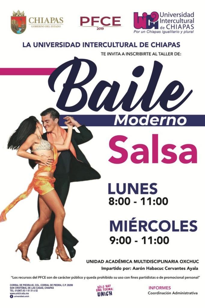Taller de Baile Moderno Sede Oxchuc