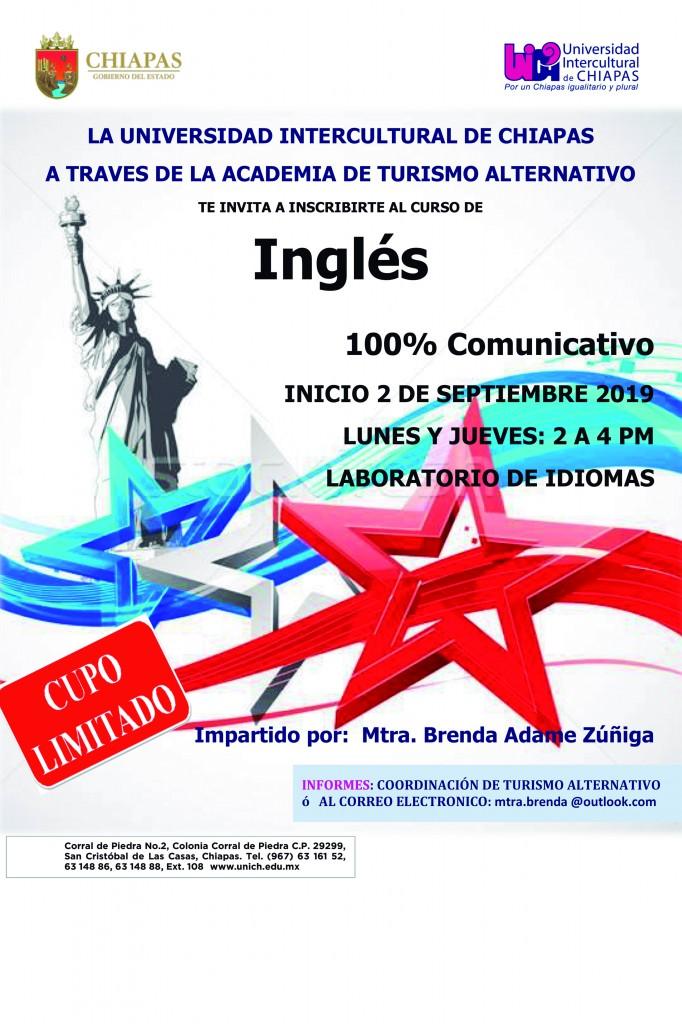 Curso de inglés 100 por ciento Comunicativo