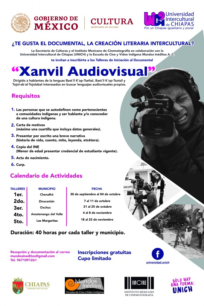 "Taller de Iniciación al Documental ""Xanvil Audiovisual"""