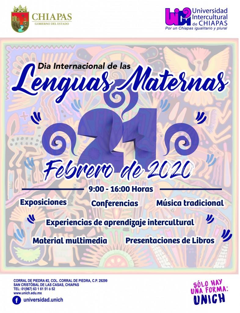 Actividades Día Internacional de Las Lenguas Maternas